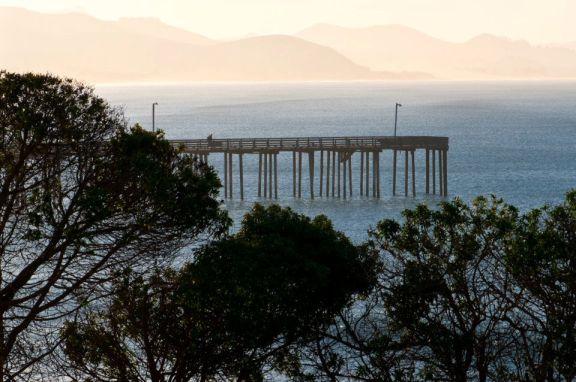 Cayucos Pier photo courtesy of David Gregg.